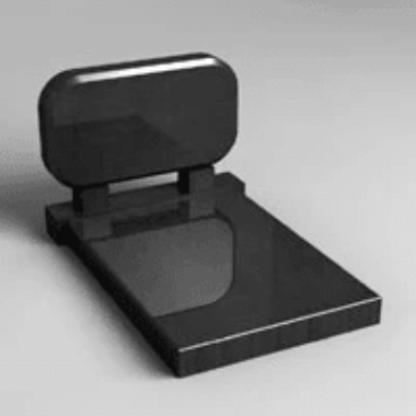 3d model of the monument 11